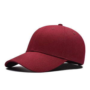 2020 Fashion unisex Baseball Cap Blank Hat Solid Color Adjustable Hat Adult Casual Cap Hat Snapback Couples Cap hats for women