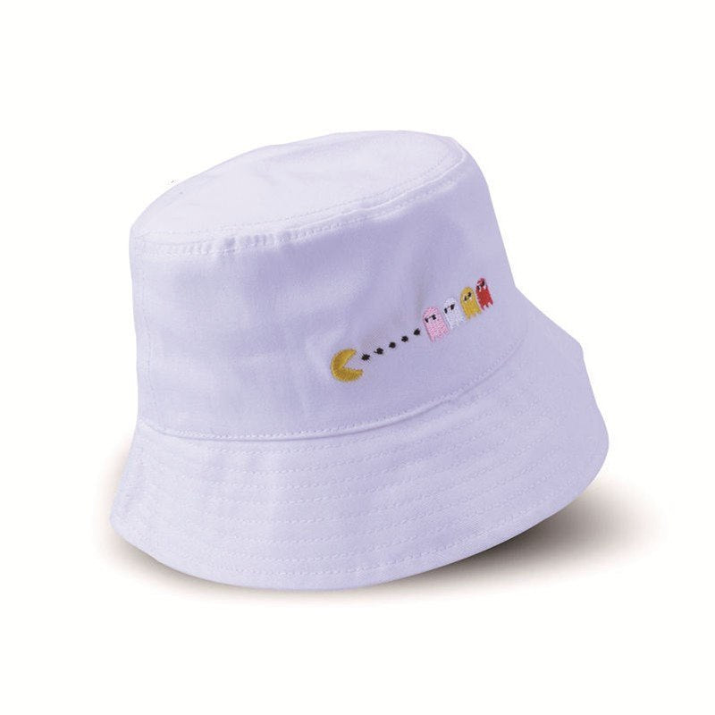 2018 Foldable Dome Floppy Cotton Bucket Cap Hats Men Women Fashion Cartoon Fisherman Hats Summer Fishing Cap Sun Hats Outdoor