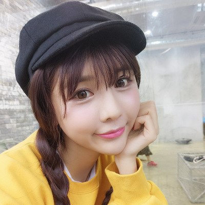 2018 Korean Style Female Beret Fashion Brand Wo Octagonal Cap, Autumn Casual Sun Hat Peaked Cap Winter Warm Baseball Caps