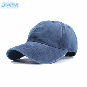 2018 New Arrival Black Snapback Cap Denim Baseball Cap 8 Color Outdoor Jean Solid Baseball Hat For Men Women Boy Girl Unisex