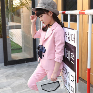 476497528275 2018 New Autu Baby Girl Blazers Single Breasted Kids Suits Infant ...