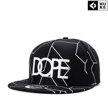 Load image into Gallery viewer, 2018 New Bone Gorras Planas Snapbacks Hot style Masculino Feminino Dope Print flat hat baseball cap Hip Hop Cap hat Swag Mens