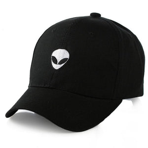 2018 New Damn Alien Embroidery Baseball Cap Cotton Adjustable Outdoor Hat Lovers Hat Korean Style Harajuku Hat