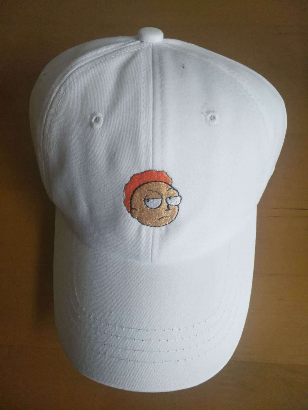 2018 New Khaki Hat Crazy Rick Baseball Cap American Anime Cot Embroidery Snapback Anime Lovers Cap Men Women