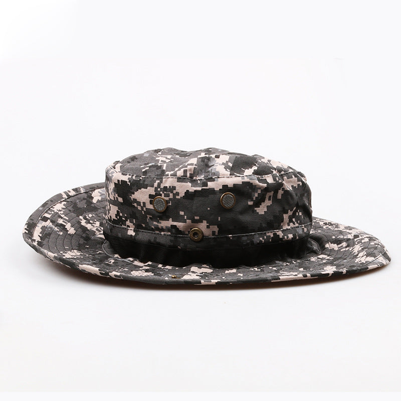 ec6f5467b79c6 2018 New Men Bucket Hats Tactical Airsoft Sniper Camouflage Nepalese ...