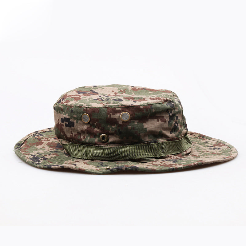 2018 New Men Bucket Hats Tactical Airsoft Sniper Camouflage Nepalese ... 04ace4d9e9df