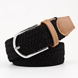2020 New Solid hat strap hat Women Unisex 1PC knitted pin buckle Clothing Accessories elastic belt decoration belt Men