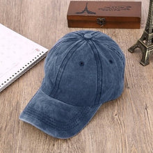 Load image into Gallery viewer, 2020 New Summer  Brand Denim Unisex Baseball Caps Good Quality Adjustable Hats Grey Casquette Bone Cap Wholesale
