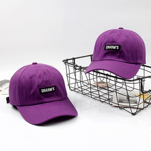 df26ef70f07 2018 New Summer Lady Baseball Cap Girls Purple Caps Women Sun Hat Cot for  Travel Shopping