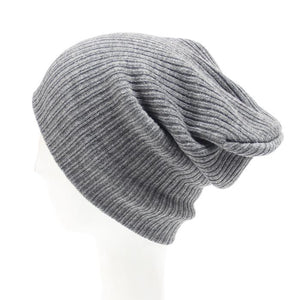 2020 NewMale Female Autu Winter Casual Knit Hats For Women Men Beanie Hat Warm Cap Knitted Caps  Beanie Hat Skullies Wholesale
