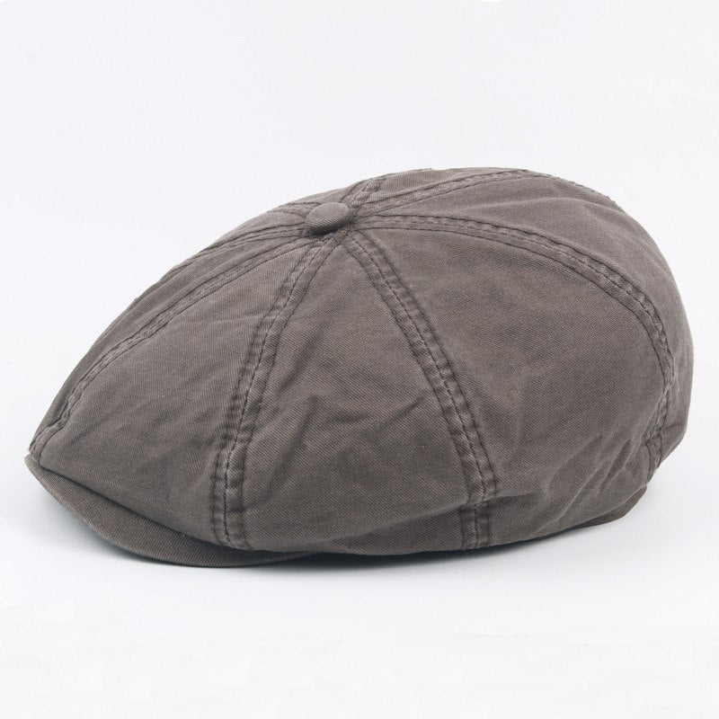 87aab77d2d441d ... Load image into Gallery viewer, 2018 Popular Fashion Design Cot Newsboy  Cap For Men And ...