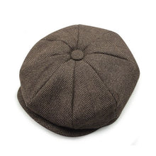 Load image into Gallery viewer, 2020 Real  David Beckham Same Design Casual Octagonal Cap Mens Beret Hats Fashion Jason Statham Gorras Planas Solid Hn55