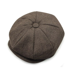 2020 Real  David Beckham Same Design Casual Octagonal Cap Mens Beret Hats Fashion Jason Statham Gorras Planas Solid Hn55