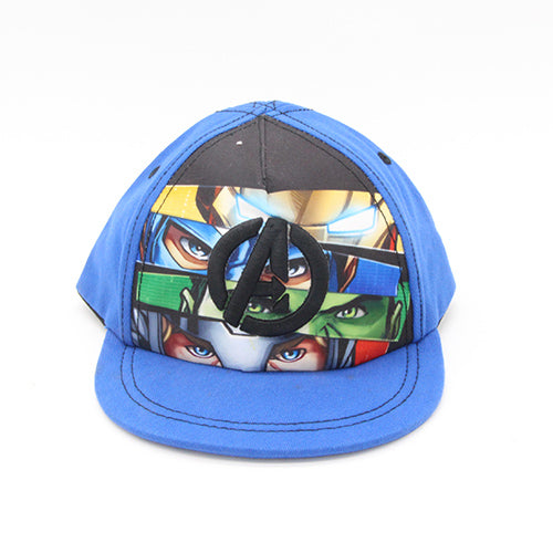 2020   Children Boys Avengers Character Ironman & Captain America & Hulk Super Hero Baseball Caps