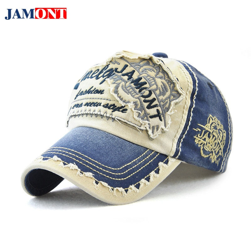 2018 Spring Summer Autu And Dad Hat Winter Hats Fashion Men And Women Cot Anti-Mite Baseball Cap Embroidery Font Hat JAMONT