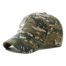 Load image into Gallery viewer, 2020 Spring Summer Mens Army Camouflage Camo Cap Cadet Casquette Desert Camo Hat Baseball Cap Hunting Fishing Blank Desert Hat