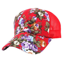 Load image into Gallery viewer, 2018  Summer Baseball Caps for Men Snapback Caps Women Mesh Breathable Casual Adjustable Floral Hats Gift 1pcs