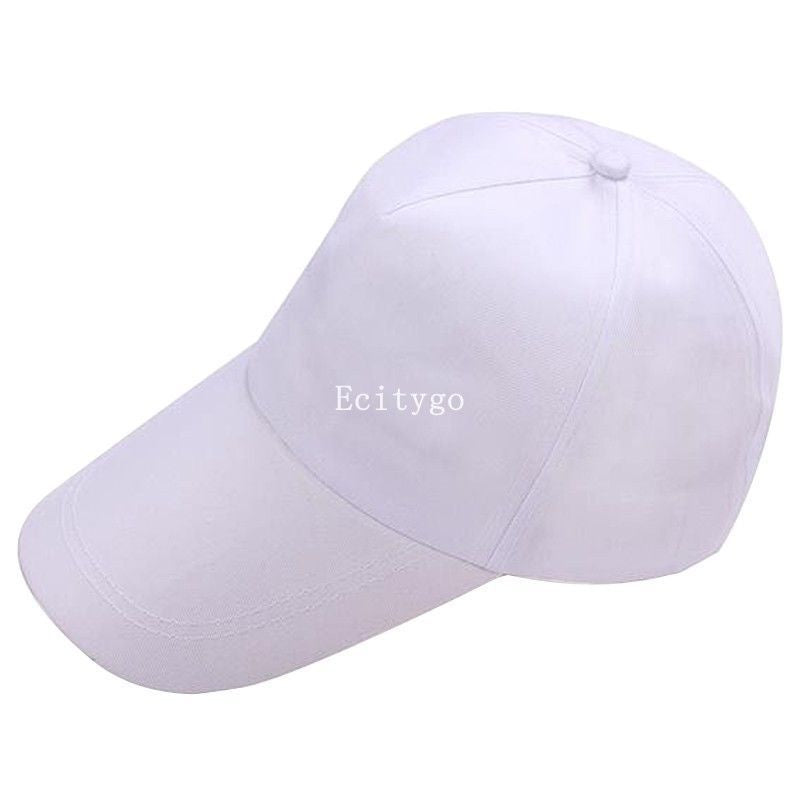 2018 Summer Men's Snapback Baseball Cap Dad Hats Unisex Plain Fitted Women's Trucker Hats Solid Color Hip Hop Flat Caps Bone