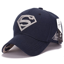 Load image into Gallery viewer, 2018 Superman hat Casquette Superman Baseball Caps hats for Men  Bone Diamond Snapback caps For youth caps Trucker Hat Gorras