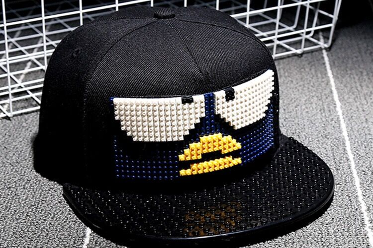 2018 Top Quality Snapback DIY Bird Baseball cap Co Hip-hop Hat For Women Men Couples Cap Fashion Style Bone delicate  hat