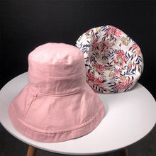 Load image into Gallery viewer, 2018 Unisex Foldable Maple Leaves Printing Bucket Hat Men Floppy Cotton Fisherman Hats Bob Cap Women Summer Sun Protection Caps