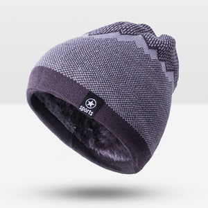 2020 Warm Fashion Winter Hat For Man Knitting Hat Cap Man Beanie Hat Sport Cap Skullies Beanies Elastic toucas Drop Shipping