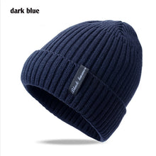 Load image into Gallery viewer, 2020 Wo velvet Winter hat Male Outdoor ski skullies beanies Mask scarf cap bonnet Winter Hats For men boys knitted hat men