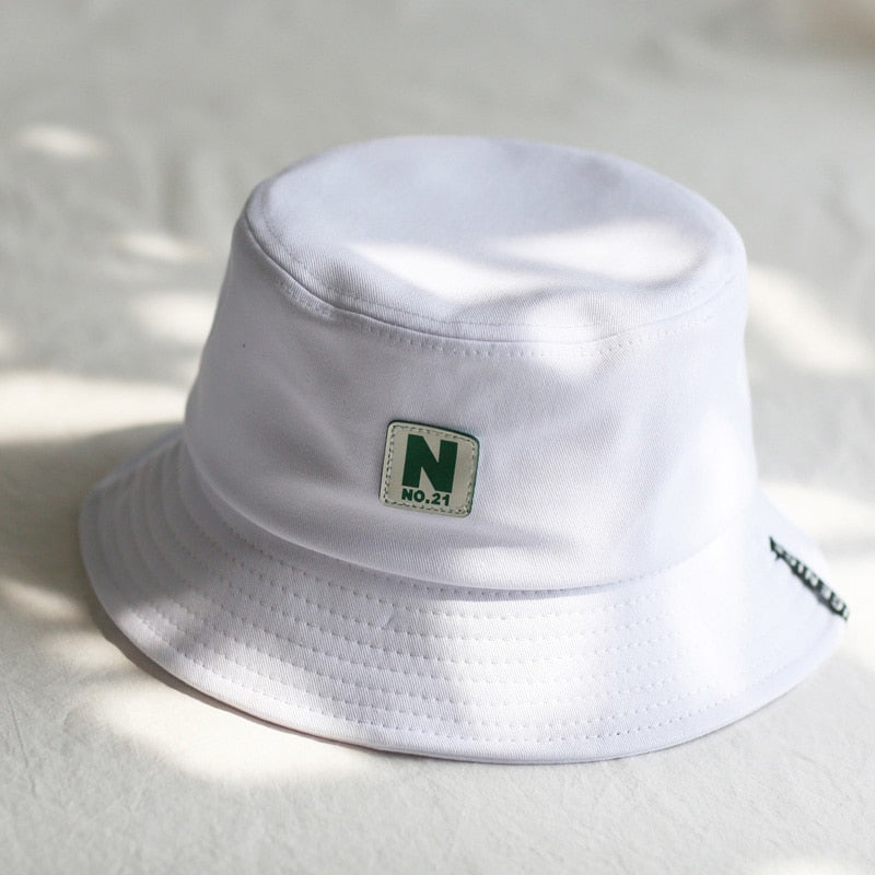 2020 green Bucket Hat Fisherman Hats Men Women Outer Summer Street Hip Hop Dancer Cotton Panama City Hat