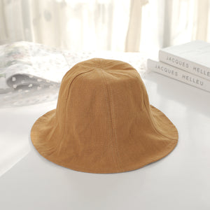 9d19c245fb3 2018 new style bucket hats men and women reversible two sides can wear 100%  cot