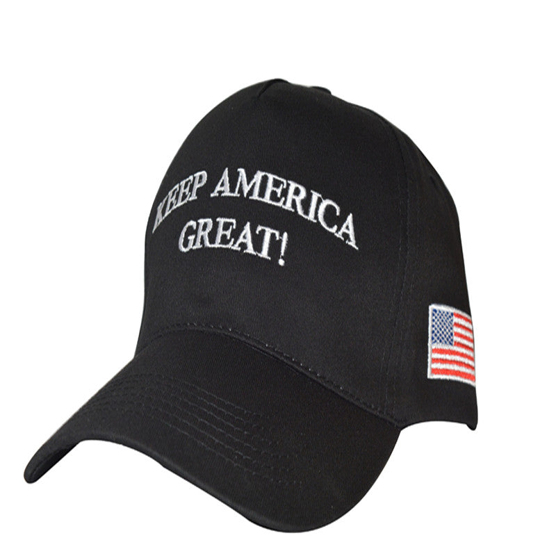 2020 Donald Trump Hat Re-Election Keep America Great Embroidery U Flag MAGA Cap Cotton Baseball Hat