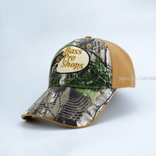 Load image into Gallery viewer, 3-3 Bass pro shops camouflage baseball cap male outdoor female man Korean version of the sun shade sunscreen hats