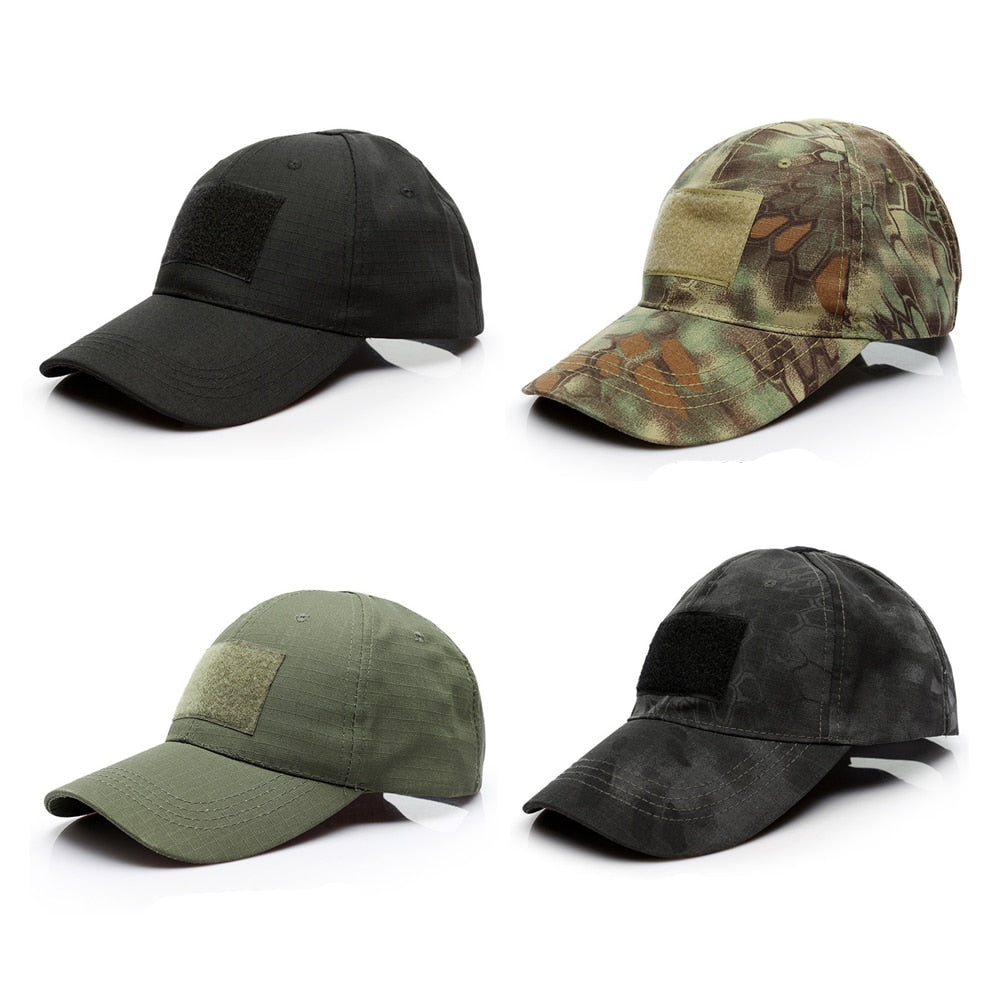 4 Style Camouflage Print Baseball Cap Men Vintage Casual Breathable Head  Caps Trucker Hat Summer Outdoor Visor Caps New Arrival d25bb1f2728
