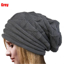 Load image into Gallery viewer, 6 Color Choosing!! 1PC Women Winter Crochet Beautiful Fashion Hat Wo Knitted Beanie Warm Caps Solid Skullies Casual Lady Hat