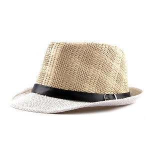 96092790bc5  AETRENDS  2018 New Summer Beach Straw Jazz Cap Panama Hats for Men Fedoras  Hat Z-6490