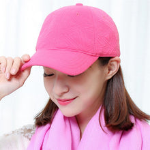 Load image into Gallery viewer, [AETRENDS] Winter baseball cap for women brand cap embossed pattern keep warm full solid basketball hats gorras mujer Z-3895