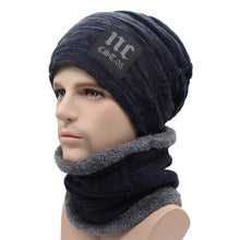Load image into Gallery viewer, Winter Knitted Hat Beanies Men Women Scarf Caps Mask Gorras Bonnet Warm Baggy Winter Hats For Men Skullies Beanies Hats