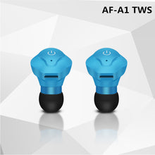Load image into Gallery viewer, AF-A1 Twins TWS Wireless Earphone Mini Bluetooth V4.2 Headphones earbuds Stereo Sports music Headset for IPhone Samsung Xiaomi