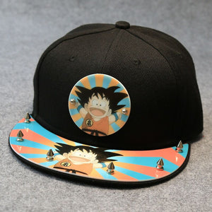 Acrylic 2018New  Japan Anime Dragon Ball Z Baseball Caps For Men Women Adjustable Dragon Ball Snapback Hats Son Goku Hip Hop Hat