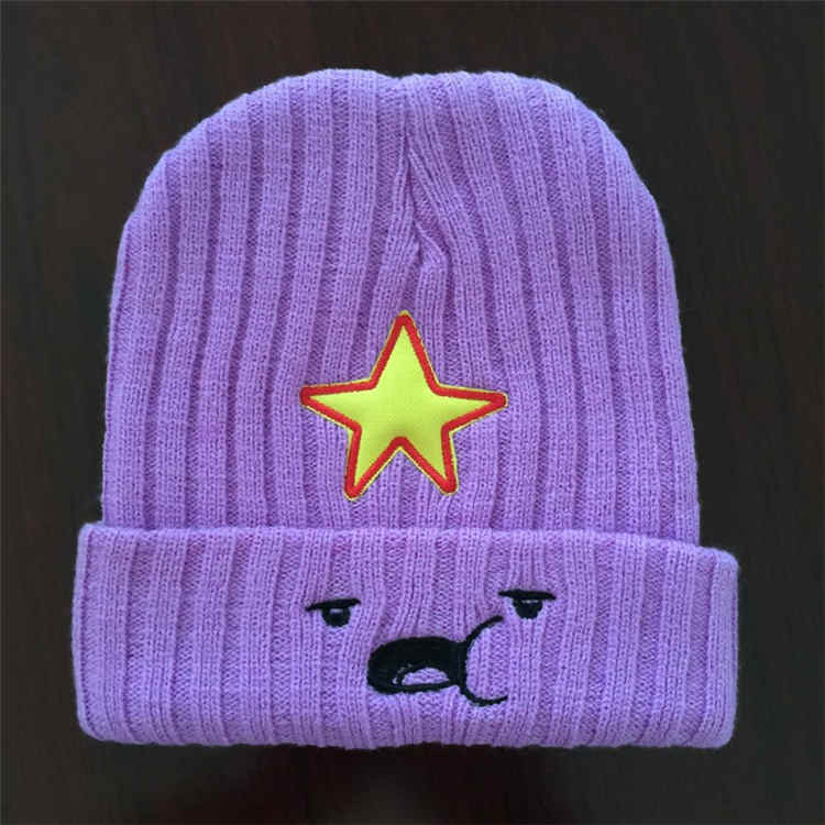 Adventure time Hat Beanies Skullies Knitted hat Winter Hats For Men Women Brand Cap Skull Gorros Bonnet Beanie Fleece New 2017