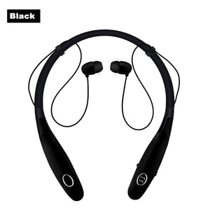 HBS-900s Wireless Bluetooth Headsets Sports Earphones Neckband Headphone Magnetic Bass Music Earbuds with Mic for Phone