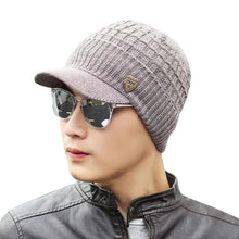 Load image into Gallery viewer, Amazing Men Warm Baggy Weave Crochet Winter Wo Knit Ski Caps Hats Hot Sales Men winter fashion warm hat