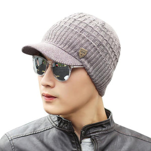 Amazing Men Warm Baggy Weave Crochet Winter Wo Knit Ski Caps Hats Hot Sales Men winter fashion warm hat