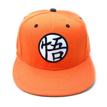 Load image into Gallery viewer, Anime Dragon Ball Z Snapback Hat Super Saiyan Goku Crystal Ball Dragonball Adjustable Hip Hip Baseball Caps