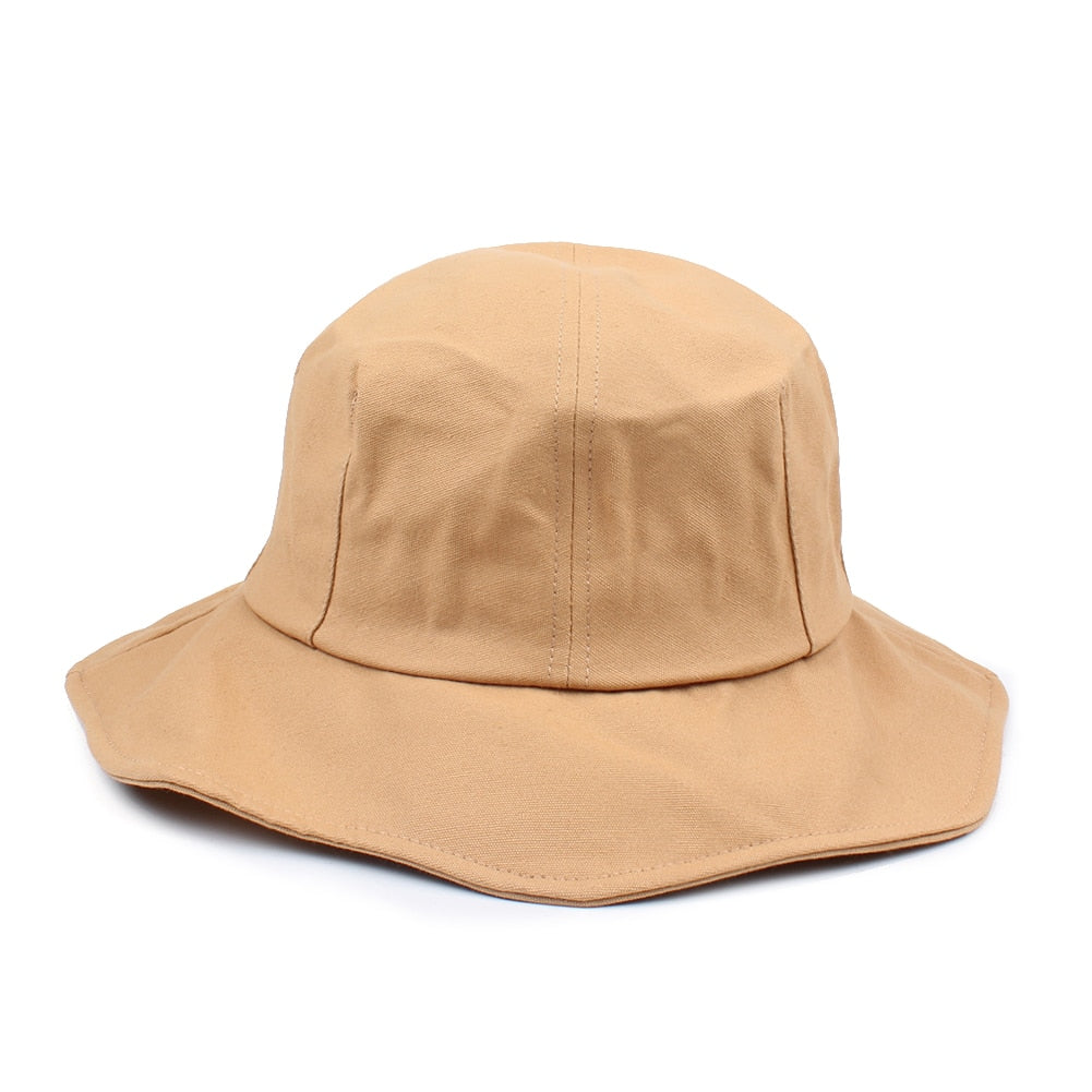 fa0fea9ba8806d ... Load image into Gallery viewer, Summer Female Hat Fashion Men Women  Bucket Hat Caps Fisherman