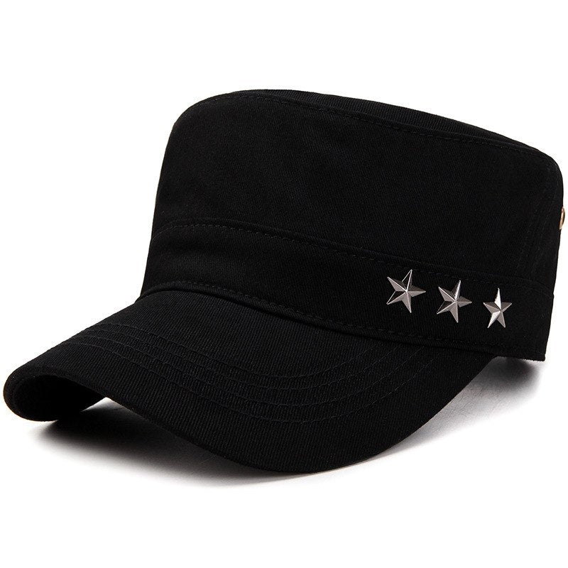 Army Style Cadet Corps Hat Plain Baseball Cap Casual Flat Top hats caps Peaked Hats For Men Women Adjustable Bone Garros
