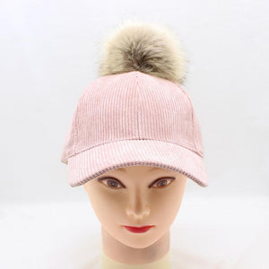 New Fashionable Black Grey Pink Khaki Solid Color Corduroy Snapback Hats Casquette Gorras Baseball Caps