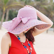 Load image into Gallery viewer, BINGYUANHAOXUAN Brand Large Brim Floppy Floppy Hat Sun Hat Beach Women Hat Foldable Summer UV Protect Travel Casual Hat Female