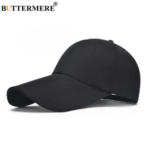 BUTTERMER Canvas Baseball Cap Women Khaki Casual Snapback Caps Men Fishing Unisex Adjustable Classic Summer Sun Hats New Arrival