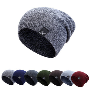 Baggy Beanies Women Soft Slouch Stocking Hats Men Winter Thick Wo Knitted Unisex Caps Skullies Beanies Bonnet Ski Hiphop Hat