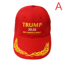 Load image into Gallery viewer, Baseball Cap Donald Trump 2020 Keep Make America Great Again Cap Great Embroidery U Flag Cotton Baseball Hat Cap